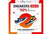 Ini Deretan Brand Sneakers Keren, Diskon hingga 50% + 10% Hanya di The F Thing