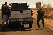 Momen Mengerikan Gembong Narkoba Tembak Mati Polisi AS