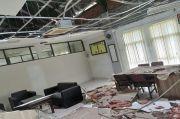 Kantornya Rusak Diguncang Gempa Malang, Anggota DPRD Blitar Ngantor dengan Was-was