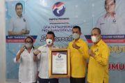 Ketua DPD Golkar Silaturahmi ke Perindo Sumatera Utara