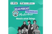 Belajar Tips Menulis melalui Kelas Podcast Siberkreasi