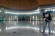 Salat Tarawih di Masjid Raya Al-Azhom Tangerang Dibatasi 1.000 Jamaah, Kultum Dihilangkan