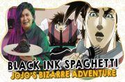 Resep Black Ink Spaghetti dari Anime Jojos Bizarre Adventure