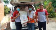 JNE Kirim Boks Berisi Masker dan Paket Kebersihan Keluarga ke NTT
