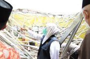Khofifah Targetkan Perbaikan Rumah Warga Terdampak Gempa Bumi Tuntas 2 Bulan