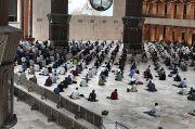 Gelar Tarawih Berjamah, Prokes di Masjid Istiqlal Diperketat