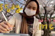 Senangnya Jadi Mahasiswa di Korea, Belajar Sambil Menikmati Indahnya Bunga Sakura