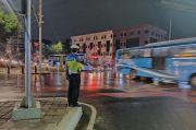 Usai Diguyur Hujan 5 Jam, Lalin Jakarta Lancar Jaya