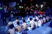 Balap Liar saat Jam Sahur, Belasan Remaja Ini Diamankan Polisi