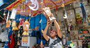 Suasana Ramadhan di Yerusalem Meriah dengan Dekorasi Warna-warni