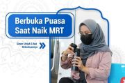 Catat! Begini Cara Batalkan Puasa Ramadhan di MRT Jakarta