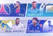 Empat Tim Terbaik Tembus Semifinal Liga Champions 2020/2021