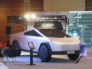 Keren, Prestige Pajang Tesla Cybertruck di IIMS Hybrid 2021