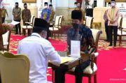 Luncurkan Gerakan Cinta Zakat, Jokowi Imbau Pejabat Segera Menunaikannya