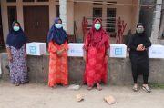 Warga Terdampak COVID-19 di Serang Dibantu Paket Sembako Human Initiative