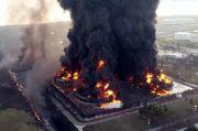 Rumah Rusak Terdampak Kebakaran Kilang Balongan Pasti Diganti, Besarannya Belum Tahu