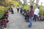 Puluhan Remaja Diamankan Polisi saat Bubarkan Balap Liar