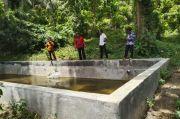 Belum Difungsikan, Proyek Kolam Air Senilai Rp140 Juta di Laikang Rusak