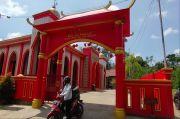 Ada Masjid Bernuansa China di Lubuklinggau, Bikin Warga Penasaran
