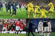Hasil Liga Europa, Jumat (16/4/2021): Villarreal vs Arsenal, Man United vs AS Roma