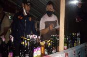 Polisi Amankan Puluhan Botol Miras Berbagai Merk di Jambi
