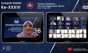 Fakultas Kedokteran UIN Jakarta Ambil Sumpah 12 Dokter Baru