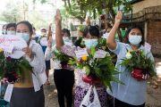 Penentang Kudeta Myanmar Umumkan Pemerintahan Persatuan Nasional