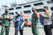 Gubernur Khofifah dan Forkopimda Kirim 30 Truk Bantuan ke NTT