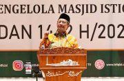 Ceramah Tarawih di Istiqlal, Mahfud: Puasa Mengajarkan Mati Sebelum Mati