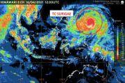 Siklon Tropis Surigae Meningkat 24 Jam ke Depan, 9 Provinsi Diminta Tingkatkan Kesiapsiagaan