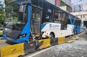 Kecelakaan di Jakarta Hari Ini Transjakarta Tabrak Separator hingga Jak Lingko Terperosok di BKT