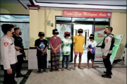 Blokir Jalan untuk Balap Liar, Pemuda di Kediri Ditangkap