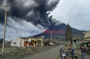 Gunung Sinabung Meletus, Semburkan Material Vulkanik hingga Ketinggian 1,5 Km