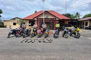 Ganggu Ketertiban Ramadhan, Polsek Bintan Timur Amankan Belasan Motor Knalpot Brong