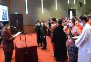 Unusa Surabaya Lantik 44 Profesi Ners, Siap Bersaing di Era Global