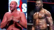 Tyson Fury Terima Tantangan Raja Kelas Berat UFC Francis Ngannou