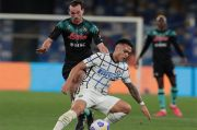 Saling Berbalas Gol, Laga Napoli vs Inter Tanpa Pemenang