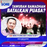 Tawuran Saat Ramadan, Membatalkan Puasa? Simak Selengkapnya di iNews Sore Senin Pukul 16.30 WIB