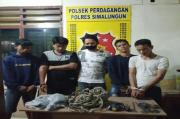 Polsek Perdagangan Tangkap Komplotan Pencuri Sarang Burung Walet