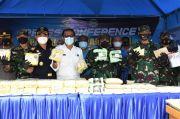 Penyelundupan 100 Kg Narkoba Dari Malaysia Digagalkan TNI AL di Muara Sungai Asahan