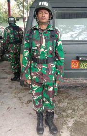 Baharudin, Kisah Perjuangan Anak Penjual Asongan di Lampu Merah Jadi Tentara