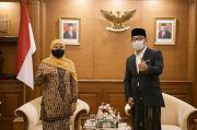 Ridwan Kamil-Khofifah Gelar Pertemuan Tak Direncanakan, Sinyal Pilpres 2024?