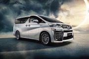 Toyota Sematkan Logo Toyota Crown buat Vellfire Hybrid