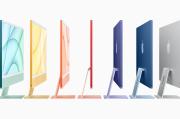 Apple Rilis iMac Baru, Lebih Tipis dan Warna Warni