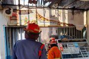 Warung Terbakar, Pemilik RM Ayam Bakar Sindang Luka Bakar