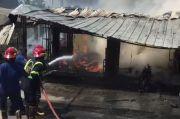 Bengkel di Cikarang Timur Terbakar, Kerugian Capai Ratusan Juta