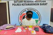 Jualan Sabu, Buruh Harian Lepas Diciduk Satresnarkoba Polres Kobar