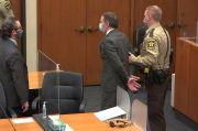 Polisi Pembunuh George Floyd Diisolasi 23 Jam Per Hari, Beginilah Penjaranya