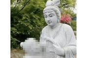 Diprotes, Taman di China Hilangkan Patung Wanita Menyusui Ibu Mertuanya