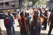 Tak Miliki Izin, Puluhan Jukir di Palembang Digelandang ke Mapolrestabes